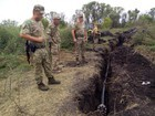 Illegal pipeline revealed on border with Russia in Luhansk region. PHOTOS