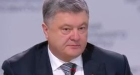 """There is no conflict in the east, there is Russia`s occupation of Ukrainian soil,"" - Poroshenko"