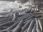 Kerch Srait bridge construction: dozens of pipes got washed up ashore by storm. VIDEO+PHOTOS