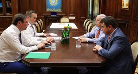 Prosecutor General Lutsenko discussed conflict between NABU and PGO with Sytnyk and Kholodnytskyi. PHOTO