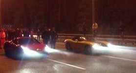 Oleksandr Yanukovych was the Rival in the Deadly Race with the Government Official. VIDEO