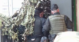 Tornado soldiers brought to Kyiv court. PHOTOS