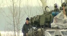 Unique noiseless tank-mounted mortar developed and tested in Kharkiv. VIDEO