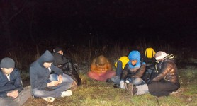 18 illegal migrants and Ukrainian guide apprehended in Zakarpattia region. PHOTOS