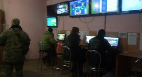 Phantom unit unmasked gambling house in Popasna. PHOTOS