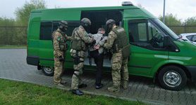 Polish border guards apprehended 25-year-old Austrian suspected of killing prisoners in Donbas. PHOTO