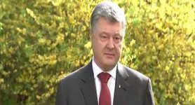 """Whatever country wins the contest, it will be the triumph of European values,"" - Poroshenko on Eurovision. VIDEO (in Ukrainian)"