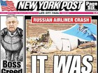 """It was a bomb!"" - The world`s media are looking for true causes of Russian A321 Airbus crash in Egypt. PHOTOS"