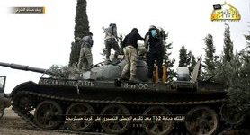 Syria jihadists capture Т-62 tank supplied to Assad forces by Russia, - CIT. PHOTO