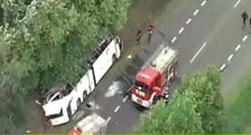 Five dead in the Ukrainian bus accident in Poland, - Foreign Ministry. VIDEO (updated)