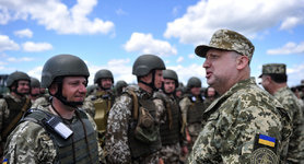 Turchynov: Multilayered territorial defense system is key to Ukraine's defense during large-scale military confrontation. PHOTOS