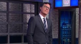 """What does Vladimir Putin`s d*ck taste like?"" - Late Show`s Stephen Colbert mocked Trump`s pro-Russian stance. VIDEO"