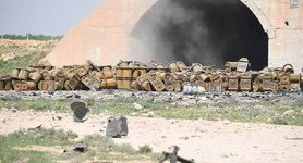 Chemical weapons containers spotted at destroyed Syrian airbase. PHOTOS