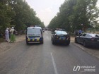 Police block Moscow Patriarchate's religious procession participants in village near Kyiv. PHOTOS