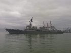 USS James E. Williams docks in Odesa. PHOTOS