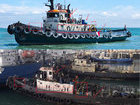 Vessels involved in preventing Ukrainian ships from passing through Kerch Strait belong to persons running business in Ukraine, - InformNapalm. PHOTOS