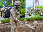 Ukraine's first open-air anti-terrorist operation museum created in Dnipropetrovsk. PHOTOS