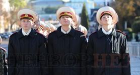 Ivan Bohun Kyiv Military Lyceum cadets took oath of allegiance to Ukraine. PHOTOS+VIDEO