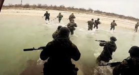 Semper Fidelis: Ukrainian marines conduct amphibious, airborne drills. VIDEO