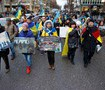Rally in commemoration of Ukraine`s Heavenly Hundred held in Hamburg. PHOTOS