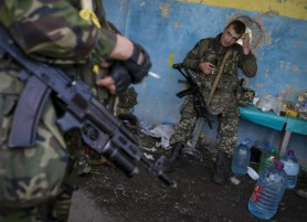 UKRAINE SAYS RUSSIA WITHDRAWING FORCES FROM EAST, SEES BOOST FOR PEACE
