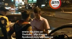 Nadiia Savchenko got into road accident in Kyiv at night. PHOTOS+VIDEO